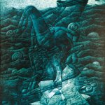 POETRY ON THE EDGE OF THE SEA, 1999, oil on canvas, 116cm X 89cm